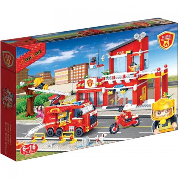 BanBao kocke Vatrogasna stanica 7101 - ODDO igračke