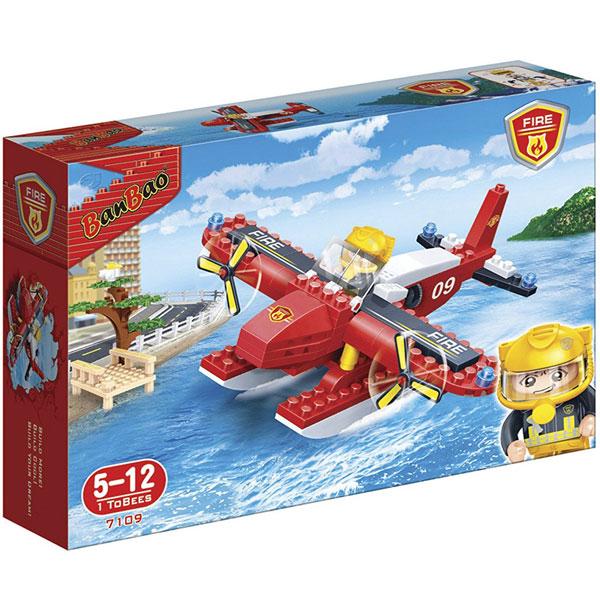 BanBao kocke Vatrogasni vodeni avion 7109 - ODDO igračke