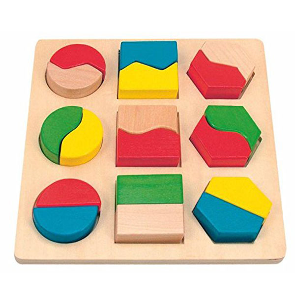 Woody Drvena Slagalica sa oblicima 90005 - ODDO igračke