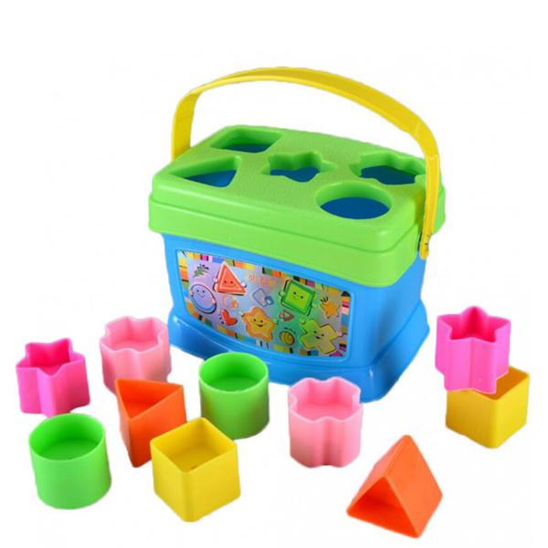 Jollybaby kocke pogodi oblik 8031j - ODDO igračke