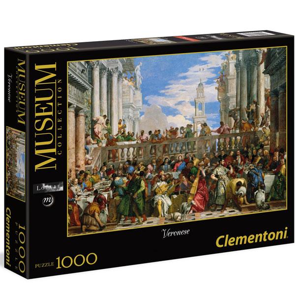 Clementoni The Wedding at Cana Veronese 1000pcs 39391 - ODDO igračke