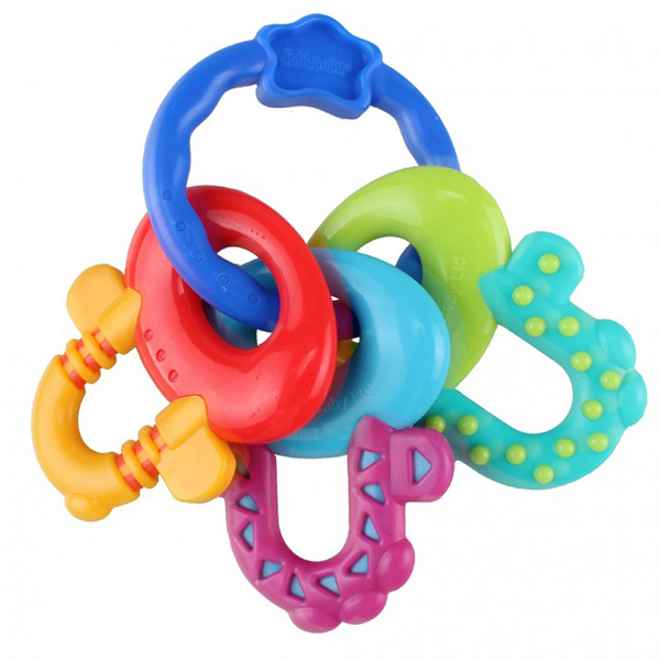 Zvečka glodalica ključevi Jollybaby 8079j plava - ODDO igračke