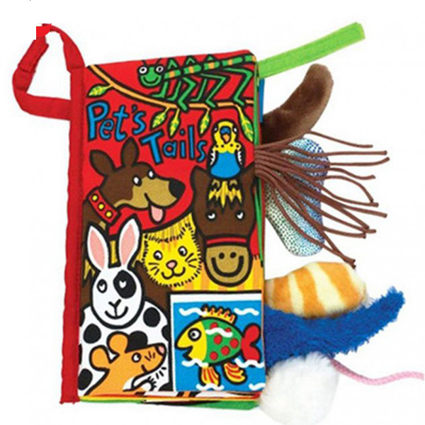 Knjiga repići kućnih ljubimaca Jollybaby 8011j - ODDO igračke