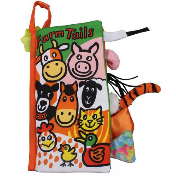 Knjiga repići domaćih životinja Jollybaby 8013j - ODDO igračke