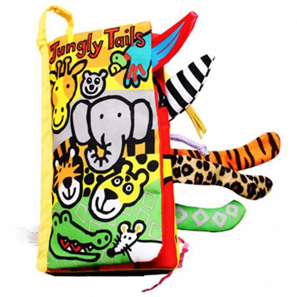 Knjiga repići životinja iz džungle Jollybaby 8014j - ODDO igračke