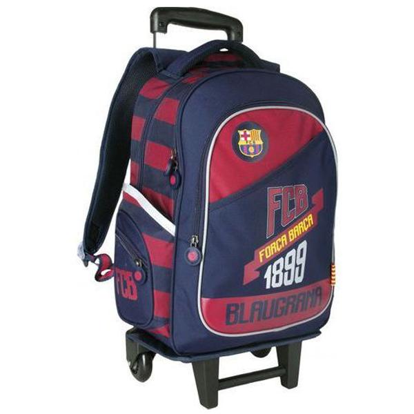 Ranac đački sa točkićima Barcelona Astra 705016001 - ODDO igračke