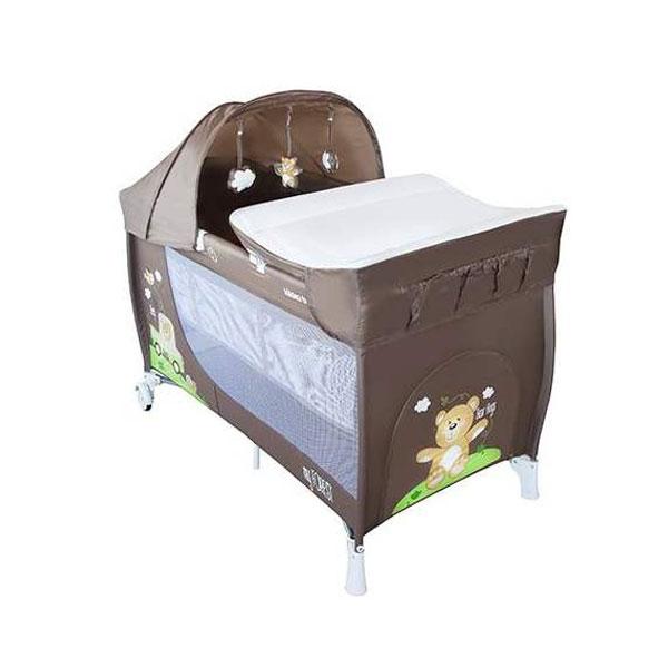 Prenosivi krevetac Torba My Forest 2 Nivoa Bear 31003010001 - ODDO igračke
