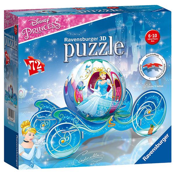Ravensburger 3D puzzle (slagalice) 72pcs Pepeljuga RA11823 - ODDO igračke