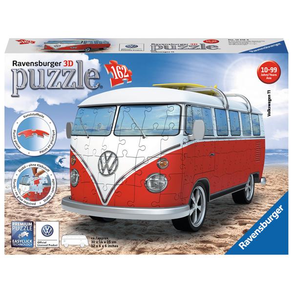 Ravensburger 3D puzzle (slagalice) 162pcs VW Bus T1 RA12516 - ODDO igračke