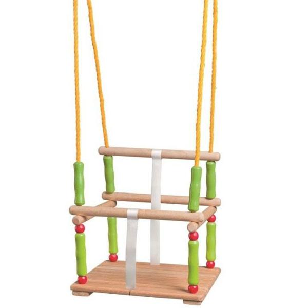 Woody Drvena Ljuljaška sa naslonom  10304 - ODDO igračke