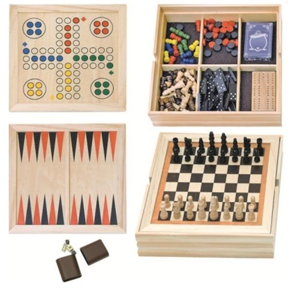 Woody Drvene Društvene igre set 90076 - ODDO igračke