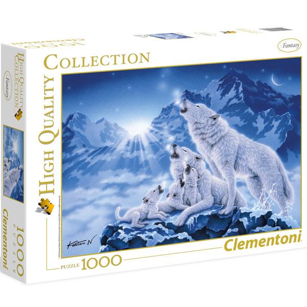 Clementoni puzzla Family of wolves 1000pcs 39280 - ODDO igračke