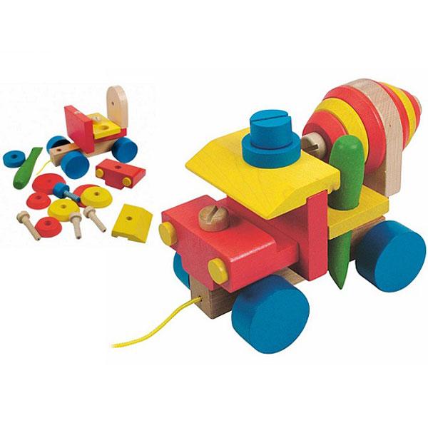 Woody Montažni cementni mikser 90102 - ODDO igračke