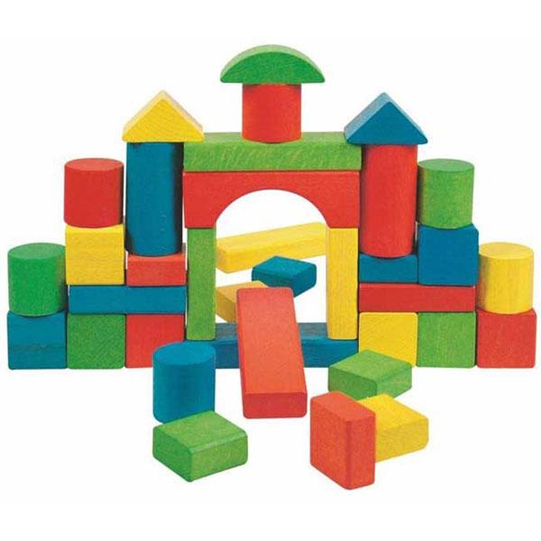 Woody Drvene kocke 90195 - ODDO igračke