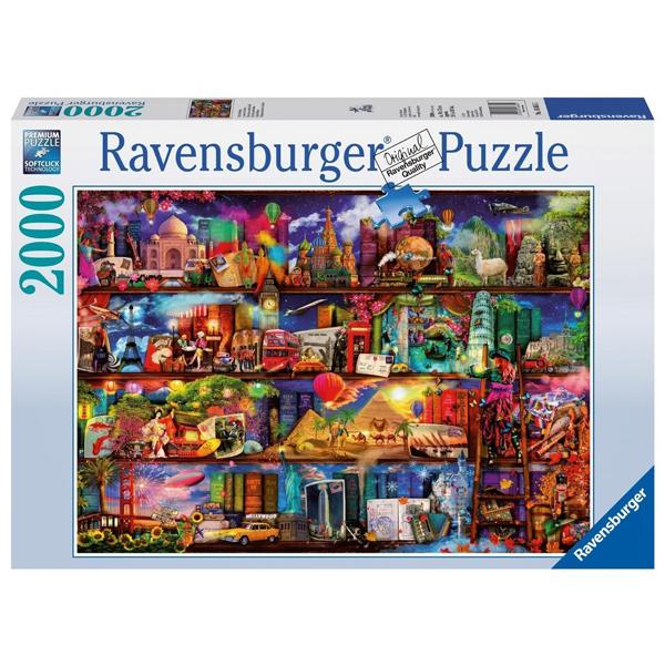 Ravensburger puzzle (slagalice) Svet knjiga RA16685 - ODDO igračke