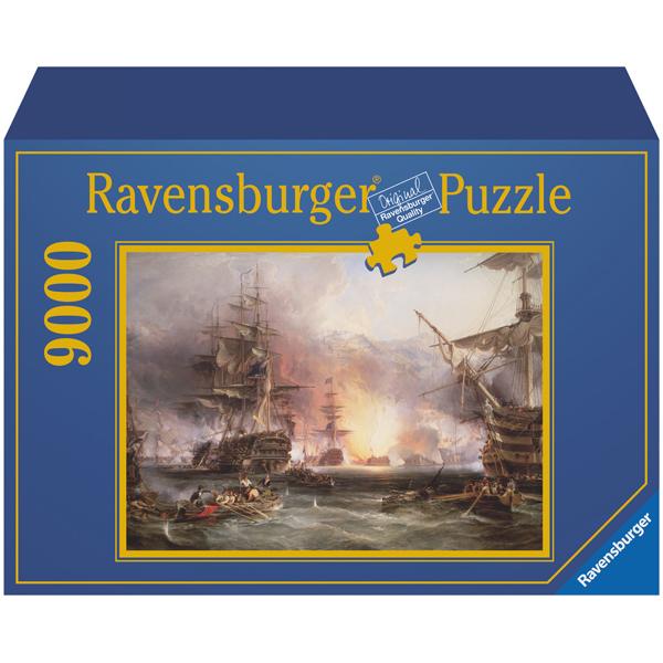 Ravensburger puzzle (slagalice)- Bombardment of the Algier 9000 RA17806  - ODDO igračke