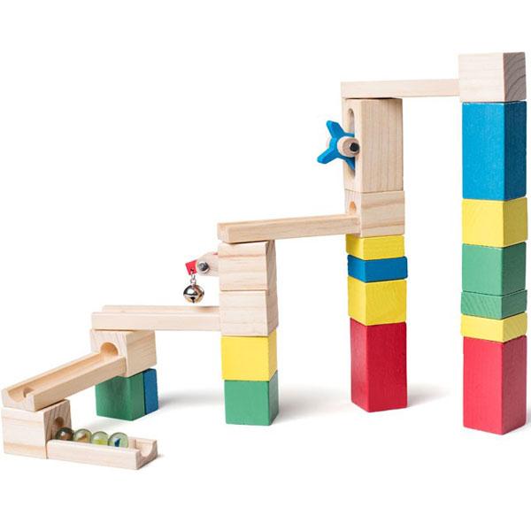 Woody Drvena konstrukcija za igru 91850 - ODDO igračke