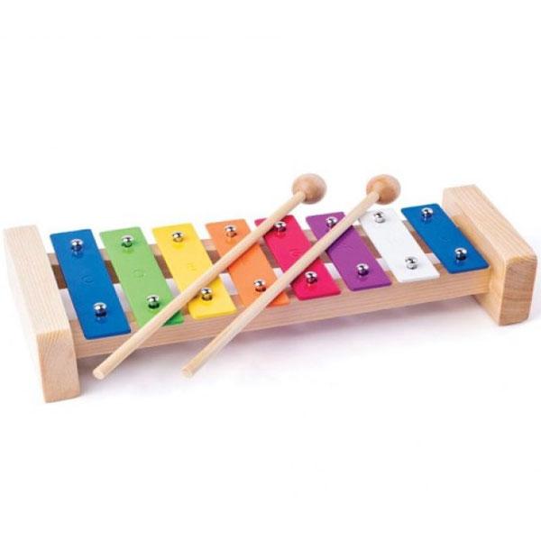 Woody Metalofon 91892 - ODDO igračke