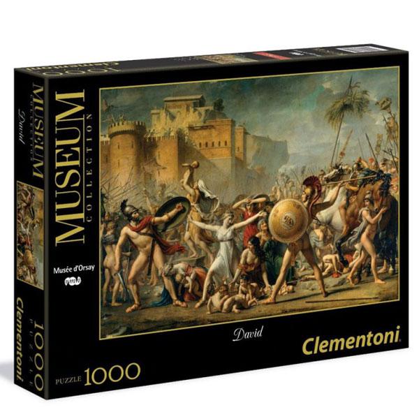 Clementoni Puzzla David Le Sabine 1000pcs 39345 - ODDO igračke