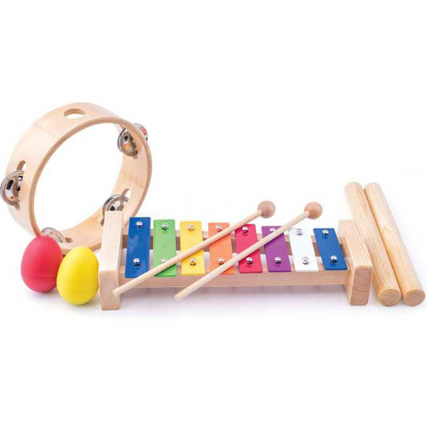 Woody Drveni Muzički set 91894 - ODDO igračke