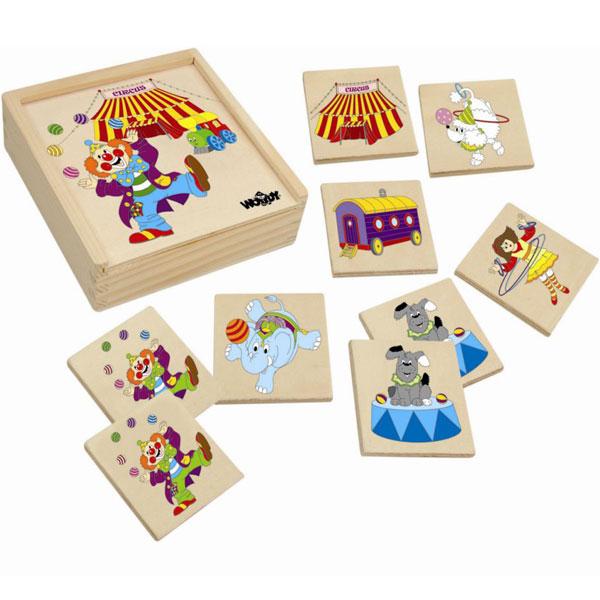 Woody Memorijska igra Cirkus 93049 - ODDO igračke