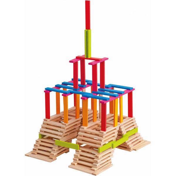 Woody Kocke drvene 200 komada 95004 - ODDO igračke