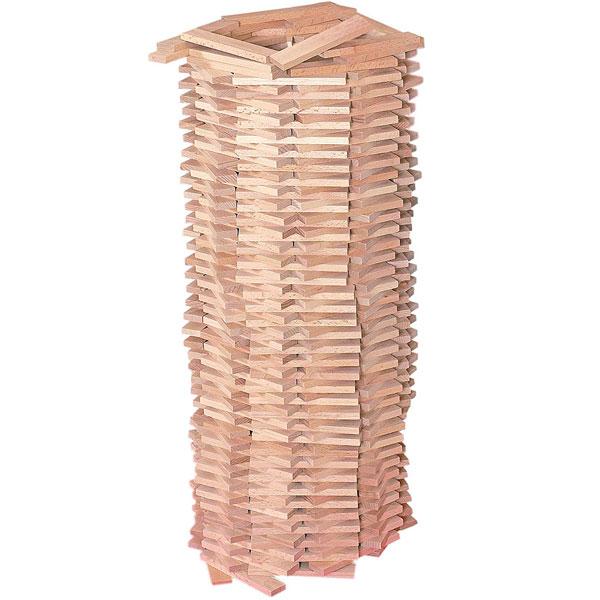 Woody Drveni blokovi prirodni Karla 90654 - ODDO igračke