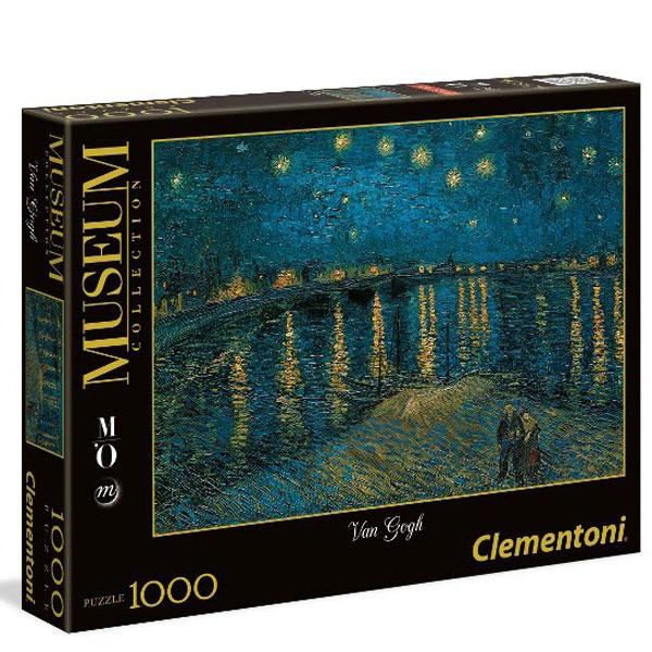 Clementoni Puzzla Van Gogh: Starry Night Over the Rhone 1000pcs 39344 - ODDO igračke