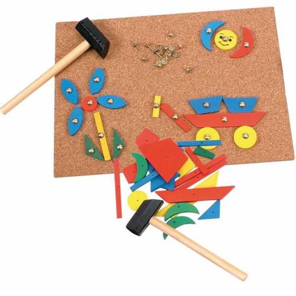 Woody Napravi razne oblike na tabli od plute 90707 - ODDO igračke