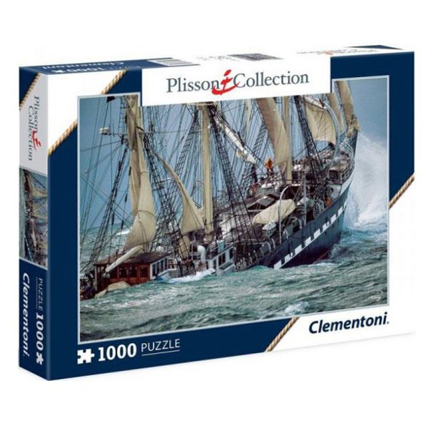 Clementoni Plisson- Belem, The Last French Tall Ship 1000pcs 39350   - ODDO igračke