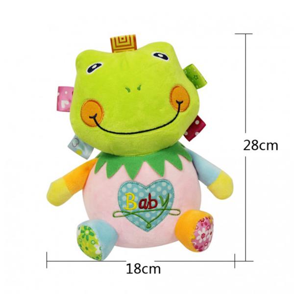 Jollybaby plišana igračka žaba akrobata 8043j - ODDO igračke