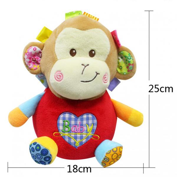 Jollybaby plišana igračka majmunče akrobata 8045j - ODDO igračke