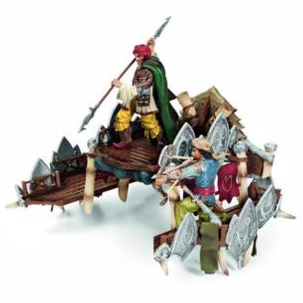 Schleich figure Dodatak za ratnog slona 42079  - ODDO igračke