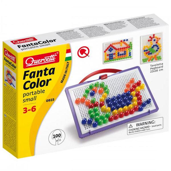 Quercetti Fanta Color Mozaik portabl mali 100pcs 0923 - ODDO igračke