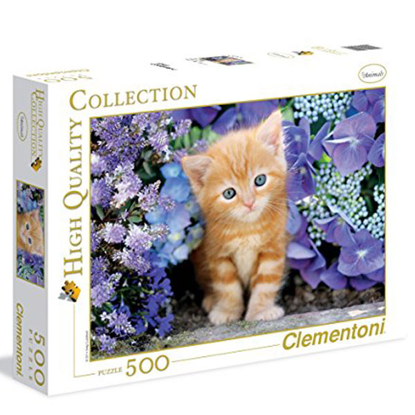 Clementoni Puzzla Ginger Cat in Flowers 500pcs 30415 - ODDO igračke
