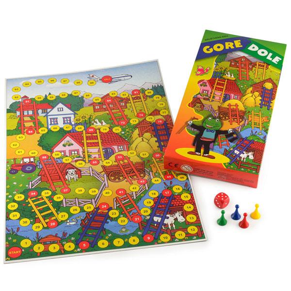 Gore dole Megaplast 3950049 - ODDO igračke