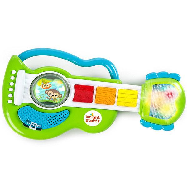 Bright Starts Rattling Rockstar Guitar SKU11284 - ODDO igračke