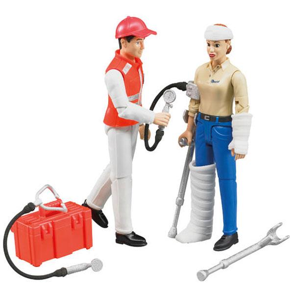 Figura set Hitna pomoć 627102 Bruder - ODDO igračke