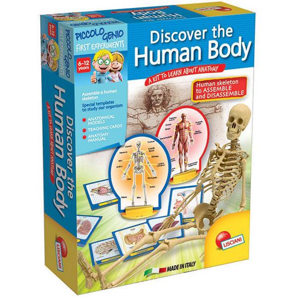 Mali genije - istraživanje ljudskog tela E50147 - ODDO igračke