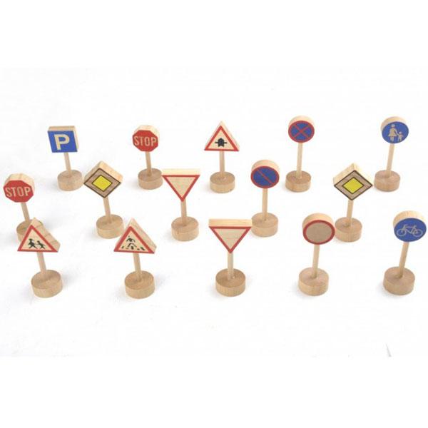 Saobraćajni znaci drveni 8569 - ODDO igračke