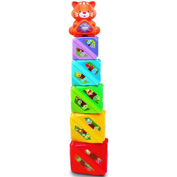 Igračka sa Zvučnim Efektom Stack Sort i Store Tree 80-185003 - ODDO igračke