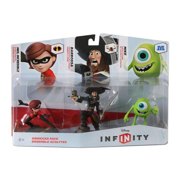 Infinity Figure Sidekicks Triple pack (Mrs.Incredible/Barbossa/Mike) 026302 - ODDO igračke