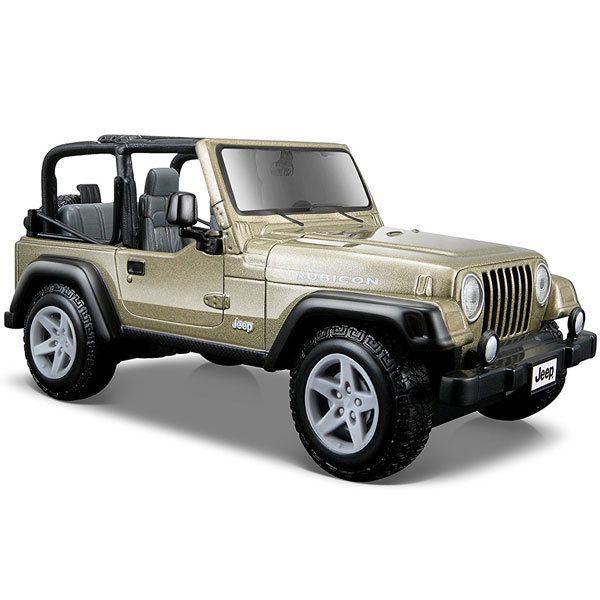 Metalni automobil 1/27 Jeep Wrangler Rubicon 0125368 - ODDO igračke