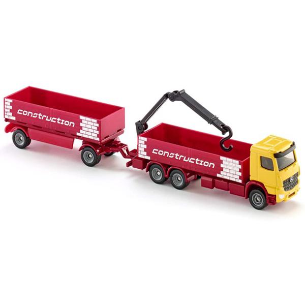 Siku Kamion sa prikolicom za prevoz gradjevinskog materijala 1797 - ODDO igračke