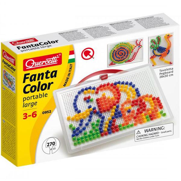 Quercetti Fanta Color Mozaik portabl veliki 270pcs 0952 - ODDO igračke