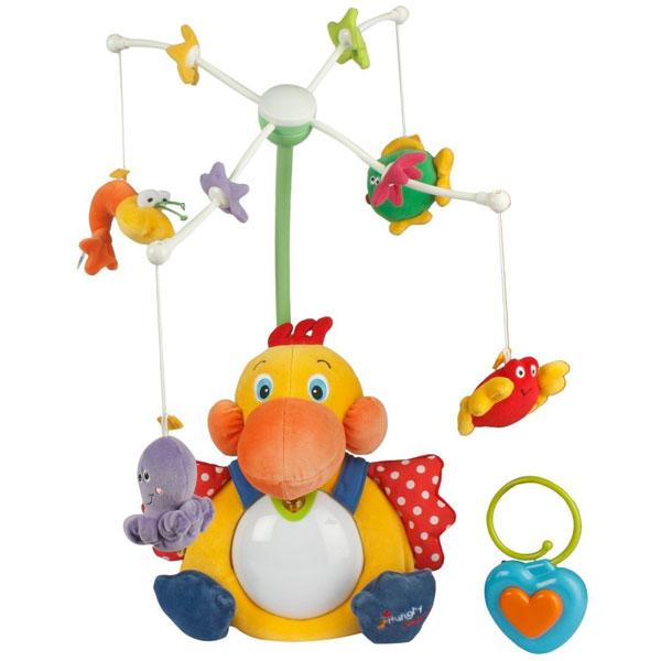 Igračka za krevetac muzička Gladni pelikan KA10524 - ODDO igračke