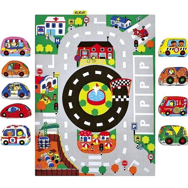 Prostirka za igru Automobili u gradu KA10665-PG - ODDO igračke