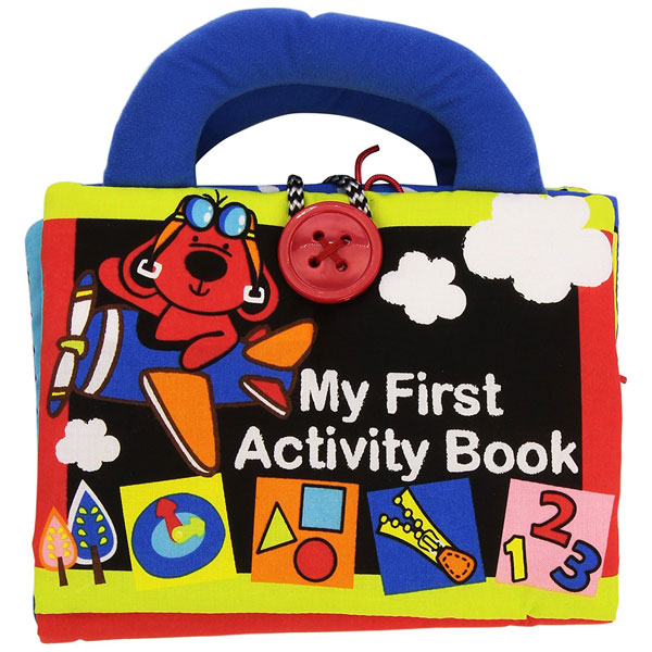 Moja prva Aktivna knjiga KA10666-PG - ODDO igračke