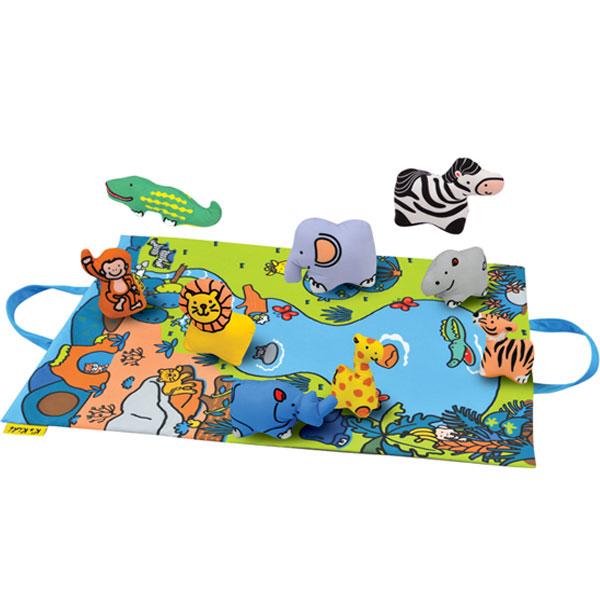 Podloga za igru sa igračkama Set divljina KA10744-PG - ODDO igračke