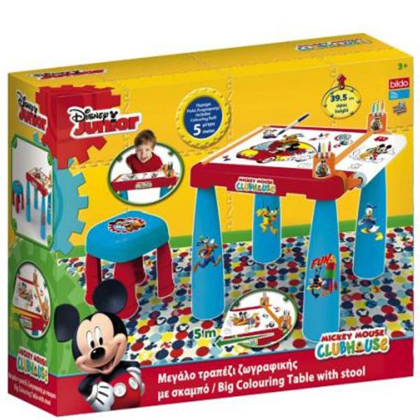 Sto i stolica sa setom za bojenje Mickey Mouse 04/8417 - ODDO igračke